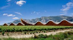Santiago Calatrava's Ysios Bodega