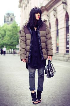 Outfits That Prove Puffer Coats Can Look Stylish | StyleCaster