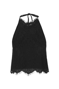 The Victoriana lace of our halterneck top completes a Morticia Addams style Halloween look.