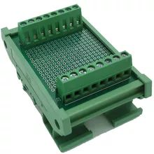 PLC Sensor Distribution Terminal Block Board DIN Rail Compatible with 2 wire & 3 wire Sensor-in Terminal Blocks from Home Improvement on Aliexpress.com | Alibaba Group Electrical Equipment, Alibaba Group, Home Improvement, Wire, Board, Home Repair, Home Improvements, Sign, Interior Decorating