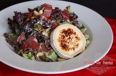 lola rossa, μαρούλι, κάσιους, μύρτιλα, κατσικίσιο τυρί, coppa citterio & tuscan dressing