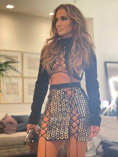 Jennifer Lopez Photos, Bra Cup Sizes, David Koma, American Singers, Couture Fashion, Nice Tops, Skater Skirt, Mini Skirts, Two Piece Skirt Set
