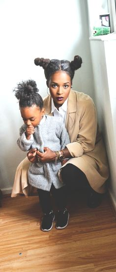 Mommy And Me Natural Hair - http://community.blackhairinformation.com/hairstyle-gallery/natural-hairstyles/mommy-natural-hair/ #naturalhairstyles