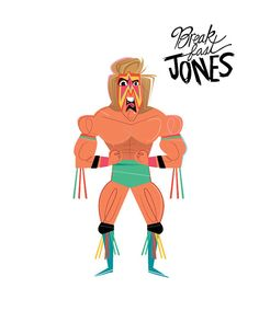 Ultimate Warrior Wrestler Illustration by Artist Kendyl Lauzon This portrait of The Ultimate Warrior was digitally created by me in April 2015