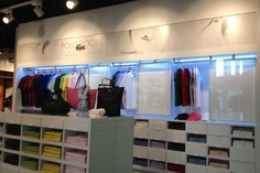 Lacoste and Tommy Hilfiger outlets, Glasgow International Airport | Pacific Building