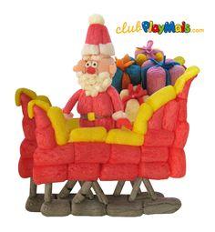 Św. Mikołaj gotowy do pracy