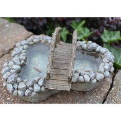 My Fairy Gardens Mini - Crooked Creek Pond - Miniature Supplies Accessories Dollhouse by MyFairyGardensShop on Etsy https://www.etsy.com/listing/579900122/my-fairy-gardens-mini-crooked-creek-pond