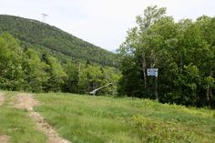 Vue des pistes, Jay Peak, Vermont, USA, Juin 2016 Jay Peak, Vermont, Country Roads, Usa