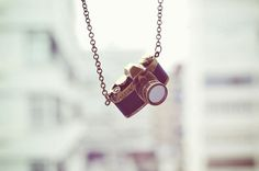 This #camera charm makes one of the cutest necklaces I have ever seen!! #style