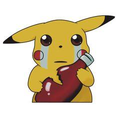 Pikachu & Ketchup by PineappleBunny