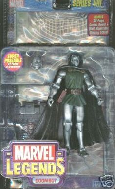 Marvel Legends Series 8 Action Figure Dr Doom Doombot Variant * Click image for more details.