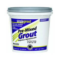 Mapei flexcolor cq 1 gallon bone acrylic premixed grout - Joint epoxy mapei ...