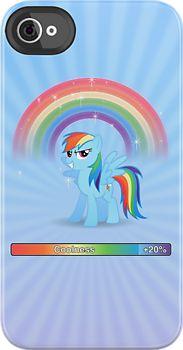 Rainbow Dash 20% Cooler iPhone Case