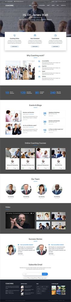 Coaching is clean and modern design responsive #Joomla template for #speaker, #life and health #coach professional website download now..