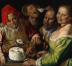Vincenzo Campi, Die Ricotta-Esser / The Ricotta-Eaters / I… | Flickr