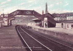 Angus, Magdalen Green Railway Station - Dundee.jpg 800×560 pixels