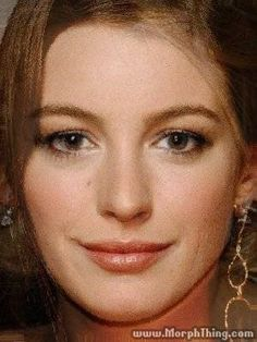Anne Hathaway, Blake Lively (Morphed) - MorphThing.com