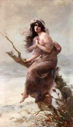 Winter - Edouard Bisson, (1856-?)