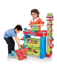 Look at this Play All Day Supermarket Play Set on #zulily today!