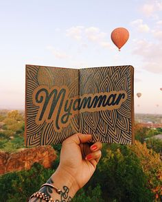 ✨TAKE 2✨ because this Myanmar sunrise hot air balloon shot is too good not to share too ☀️🎈@laurenronquillo and I woke up at 5am to climb up a temple to catch the sunrise and got an even more magical surprise when hot air balloons proceeded to fly over us 😍🙏🏼✨