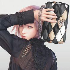 Louis Vuitton Campaign 2016ss: Final Fantasy XIII Lightning