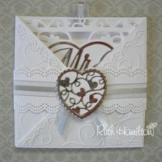 A Passion For Cards: Wedding Criss Cross Card - new Tonic release dies