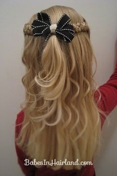 Intricate Variation on Side Braids | 37 Creative Hairstyle Ideas For Little Girls http://babesinhairland.com/hairstyles/our-try-at-tween-braids/