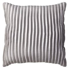 Room Essentials® Pleated Decorative Pillow - Gray.