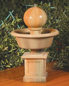 This garden fountain is ideal in any space.   Please visit us at https://www.waterfeaturesupply.com/waterwalls/outdoor-water-fountains.html to get even more information regarding this fountain.