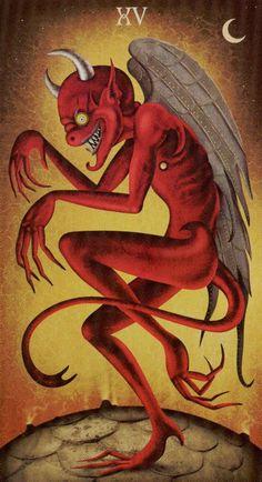 Seguindo na série doDia das Bruxas, agora falarei daquele que costuma ser o monstro do Tarô, o Diabo. Afinal, quem quer se encontrar frente a frente com ele? Arcano 15 O Diabogeralmente é interpr...