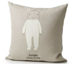 Pin for Later: Baby, You're a Star! Personalized Shower Gifts For New Arrivals Personalized Baby Pillow