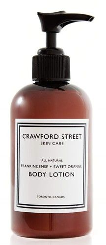 Crawford Street Frankincense and Sweet Orange Body Lotion $19.99 - from Well.ca