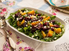 Roasted Beet Salad recipe from Food Network Specials via Food Network