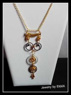 Bijoux créateurs pendentif métal . Khéops : Pendentif par et666
