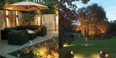 Verlichting tuin en muur
