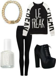 Outfit inspired by: 2NE1 Minzy instagram update