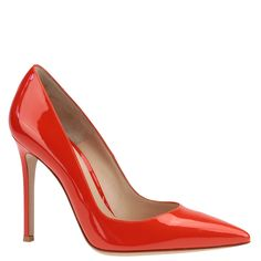 Gianvito Rossi Gianvito 105 pumps in red patent leather. from Wunderl in Austria.