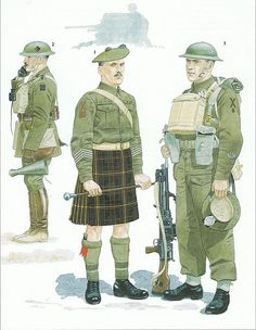 51st (Highland) Division 1939/1940 by sixeur, via Flickr