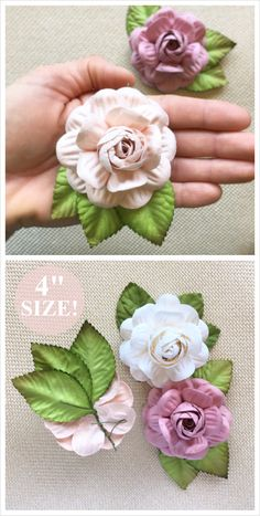 80 best paper flowers images on pinterest in 2018 flower wall 4 paper flowers now available in blush pink mauve perfect for diy mightylinksfo