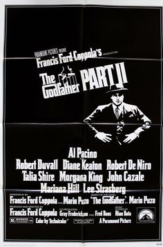 "Godfather Part II (1974) Vintage One-Sheet Poster - 27"" x 41"""