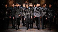 D&G winter 2015 Mens fashion show