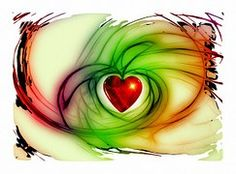 Herz, Liebe, Glück, Abstrakt, Beziehung