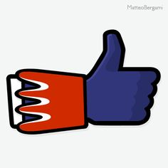 """Facebook """"J'aime"""" Goldorak"""