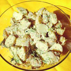 Sałatka z ziemniaków z koperkiem