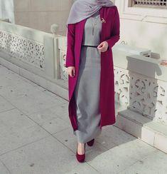 ideas for wedding dresses hijab turkey Hijab Style Dress, Hijab Wear, Casual Hijab Outfit, Hijab Chic, Casual Hijab Styles, Iranian Women Fashion, Islamic Fashion, Muslim Fashion, Modest Fashion