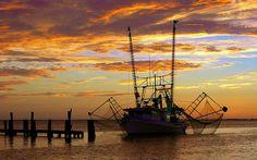 Shrimp Boat, Grand Isle, LA