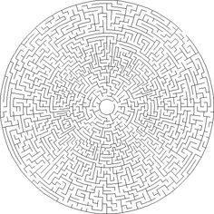 circular maze generator - Google Search