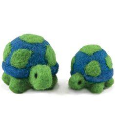 Feltworks Ball Turtles Learn Needle Felting Kit-, , hi-res