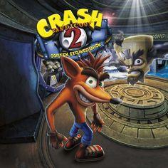 Crash Bandicoot 2: Cortex Strikes Back PS1 Cover -Remake-