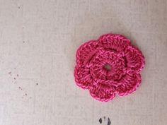 Easy crochet flower
